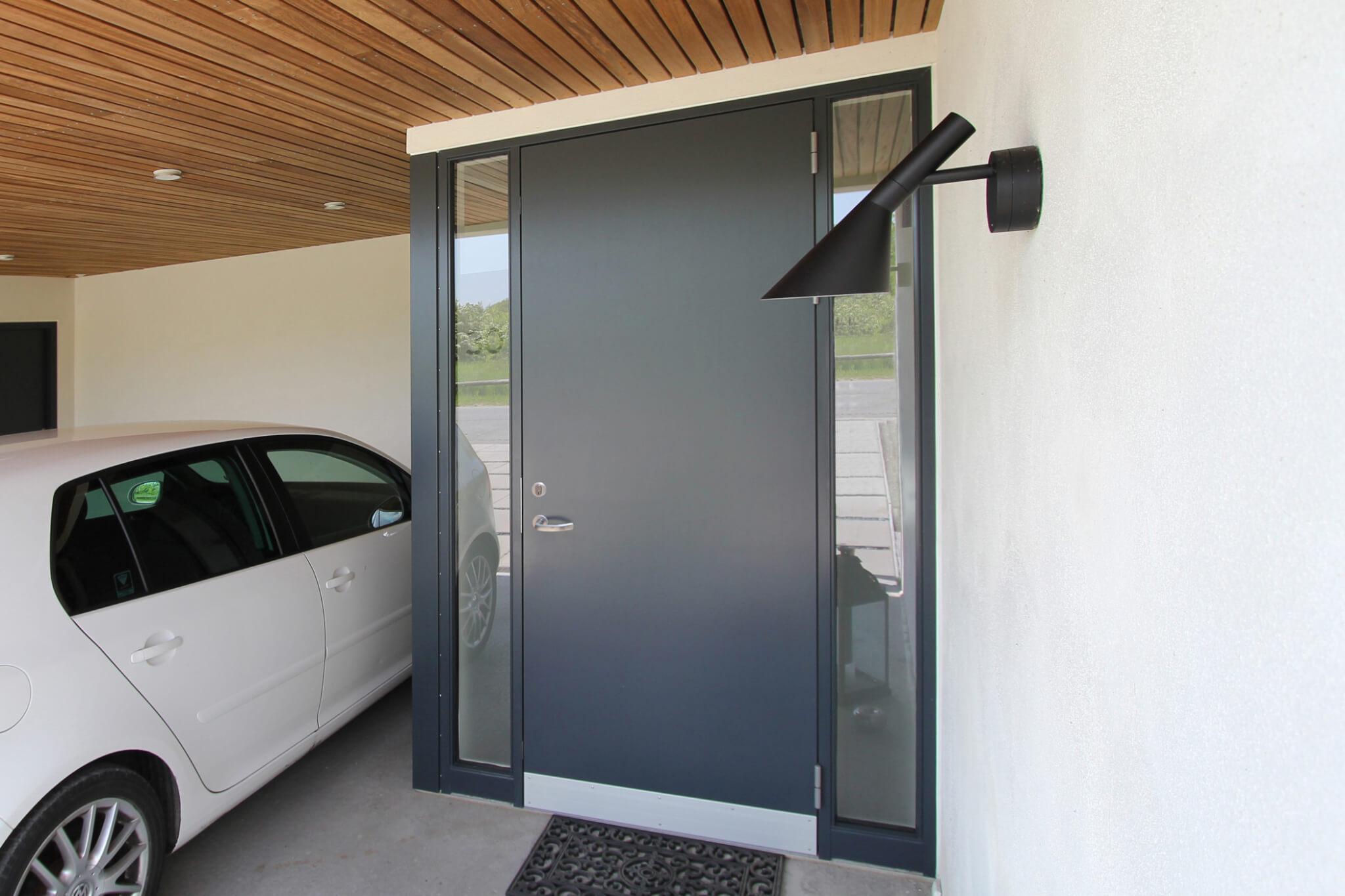 idealcombi pladedør grå Ideal Combi Døre og vinduer